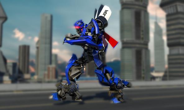Police War Robot Superhero apk screenshot
