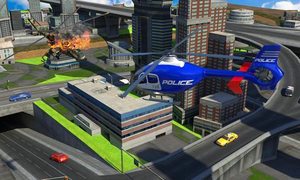 Police War Robot Superhero poster