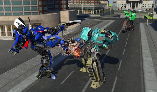 Police Limo Robot Battle apk screenshot