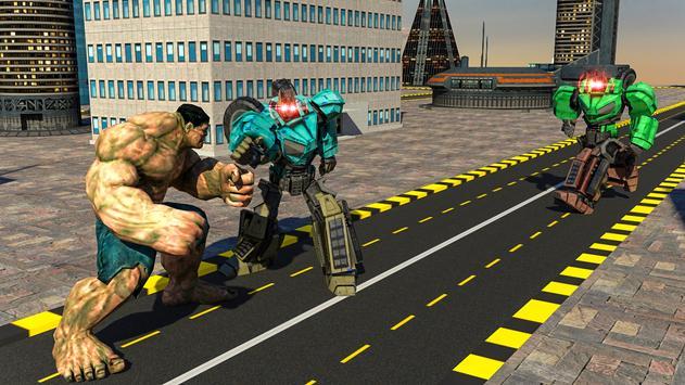 Superheroes Robot Battle screenshot 9