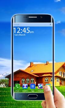 Transparent Screen Mobile poster