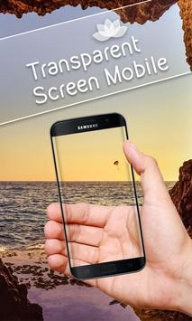 Transparent Screen Mobile poster