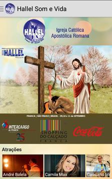 Hallel Som e Vida poster