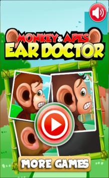 Monkey Ear Surgery Doctor apk screenshot