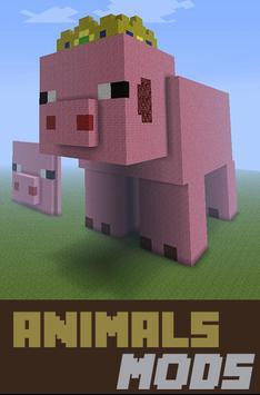 Animals Mods For MCPE poster