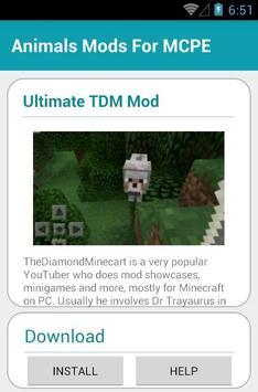Animals Mods For MCPE screenshot 2