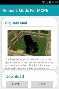 Animals Mods For MCPE screenshot 4
