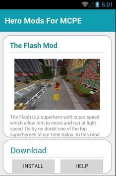Hero Mods For MCPE screenshot 2