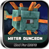 Water Dungeon MOD PE icon