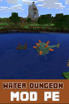 Water Dungeon MOD PE poster