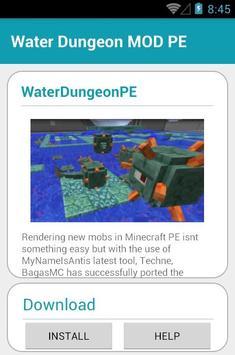 Water Dungeon MOD PE screenshot 17