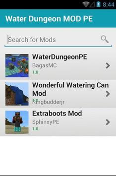 Water Dungeon MOD PE screenshot 1
