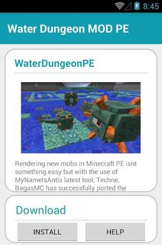 Water Dungeon MOD PE screenshot 2