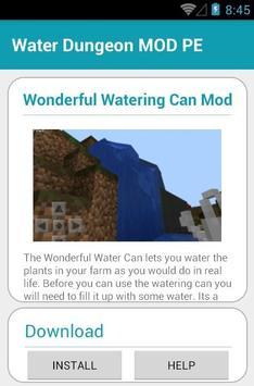Water Dungeon MOD PE screenshot 3
