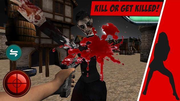 Zombie Reaper Dead Rampage 3D apk screenshot