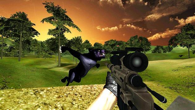 Black Panther Hunter Sniper GO screenshot 3