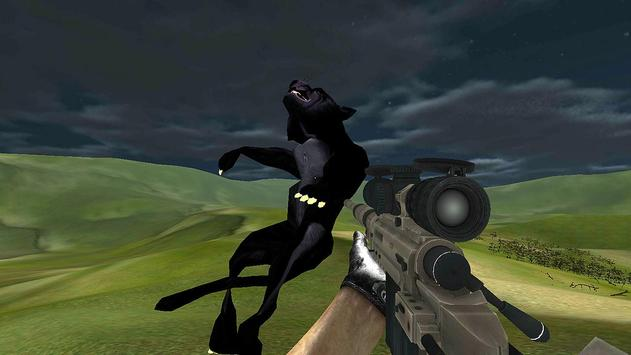 Black Panther Hunter Sniper GO screenshot 1