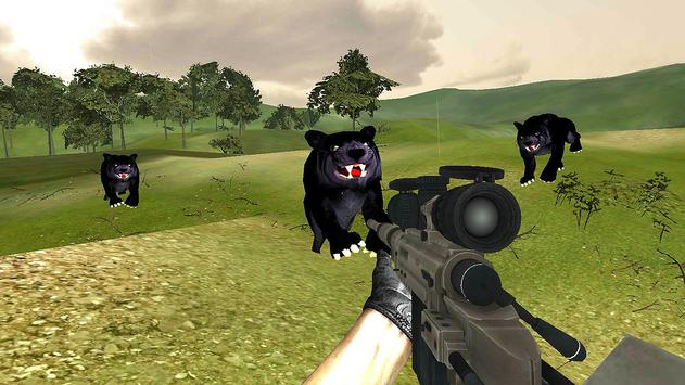 Black Panther Hunter Sniper GO screenshot 2