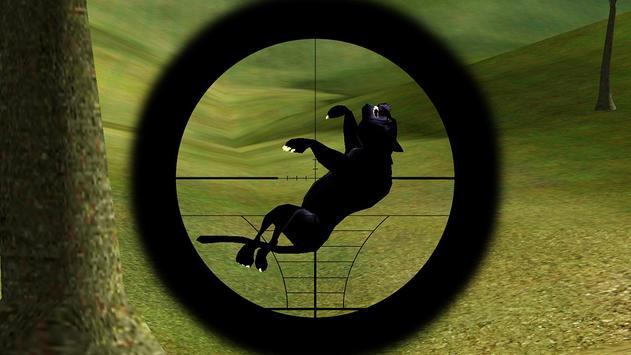 Black Panther Hunter Sniper GO screenshot 4