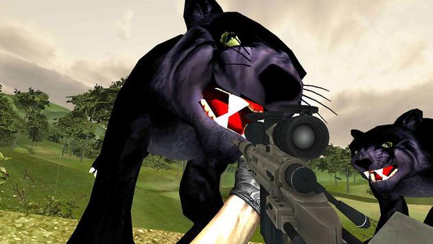 Black Panther Hunter Sniper GO screenshot 6