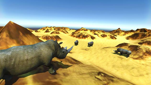 Deadly Desert Rhino Simulator apk screenshot