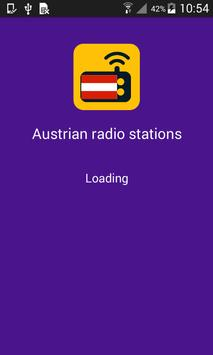 Austrian radio poster