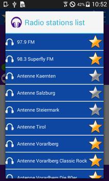 Austrian radio screenshot 1