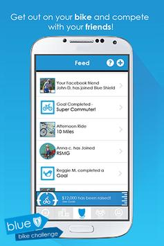 Blue Shield Bike Challenge screenshot 5