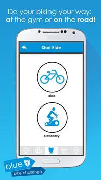 Blue Shield Bike Challenge poster