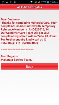 Maharaja Service apk screenshot