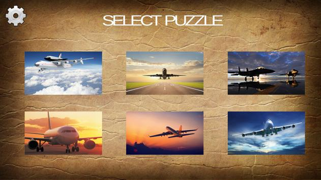 2016 Airplane Jigsaw Puzzles screenshot 1