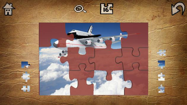 2016 Airplane Jigsaw Puzzles screenshot 3
