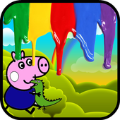 Painting Peppy the Pig icon
