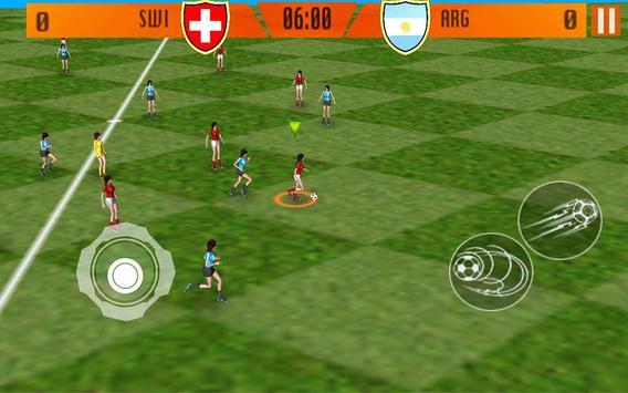 Real Women Football apk screenshot