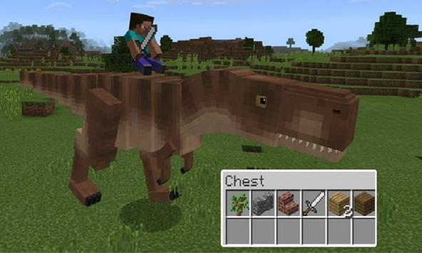Mod T-Rex for MCPE poster
