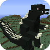 Mod Big Godzilla for MCPE icon