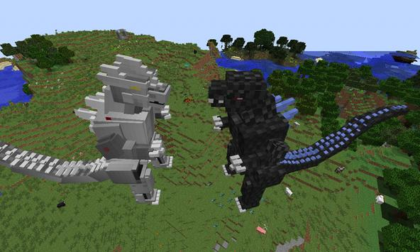 Mod Big Godzilla for MCPE screenshot 1