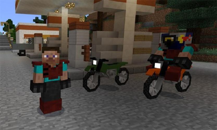 мод на мотоциклы в майнкрафт 1.7.2 #5
