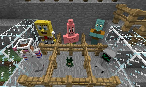 Mod SpongeBob  for MCPE screenshot 1