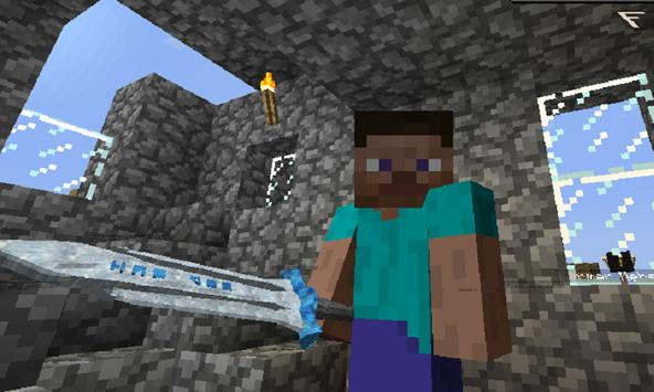 Swords Mod for MCPE poster