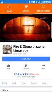 Fire and Stone Pizza apk screenshot
