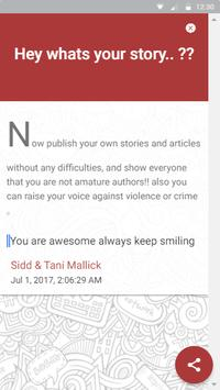 RStories: Myapp - Whats your story ?? apk screenshot