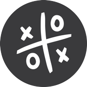Simplest Tic Tac Toe Game (Free) icon