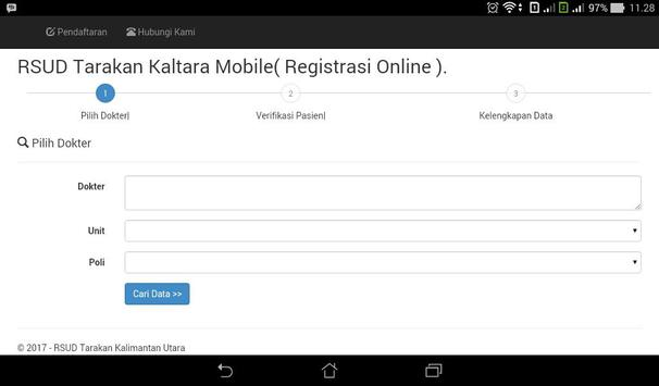 RSUD Tarakan Kaltara Mobile screenshot 2