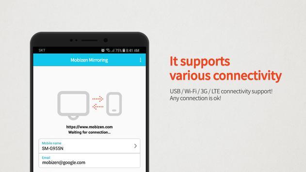 Mobizen Mirroring apk screenshot