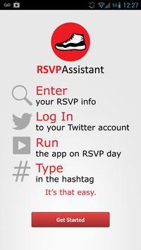 RSVP Assistant poster