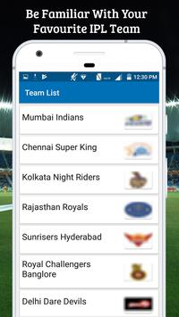 Schedule For IPL 2018 screenshot 3