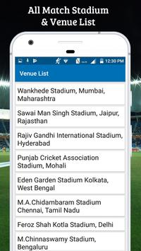 Schedule For IPL 2018 screenshot 4