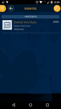 Vivo Duoc Docentes apk screenshot