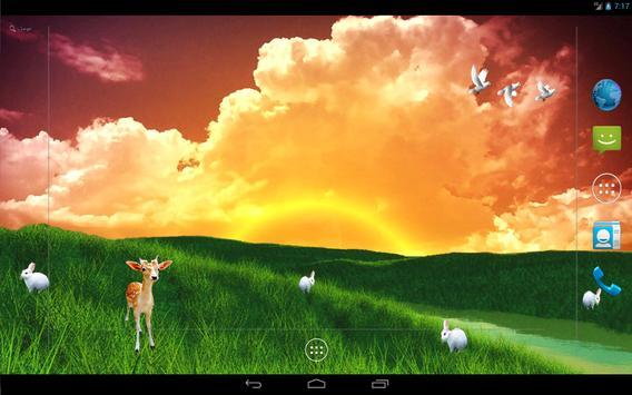 S5 Grass Land Live Wallpaper apk screenshot